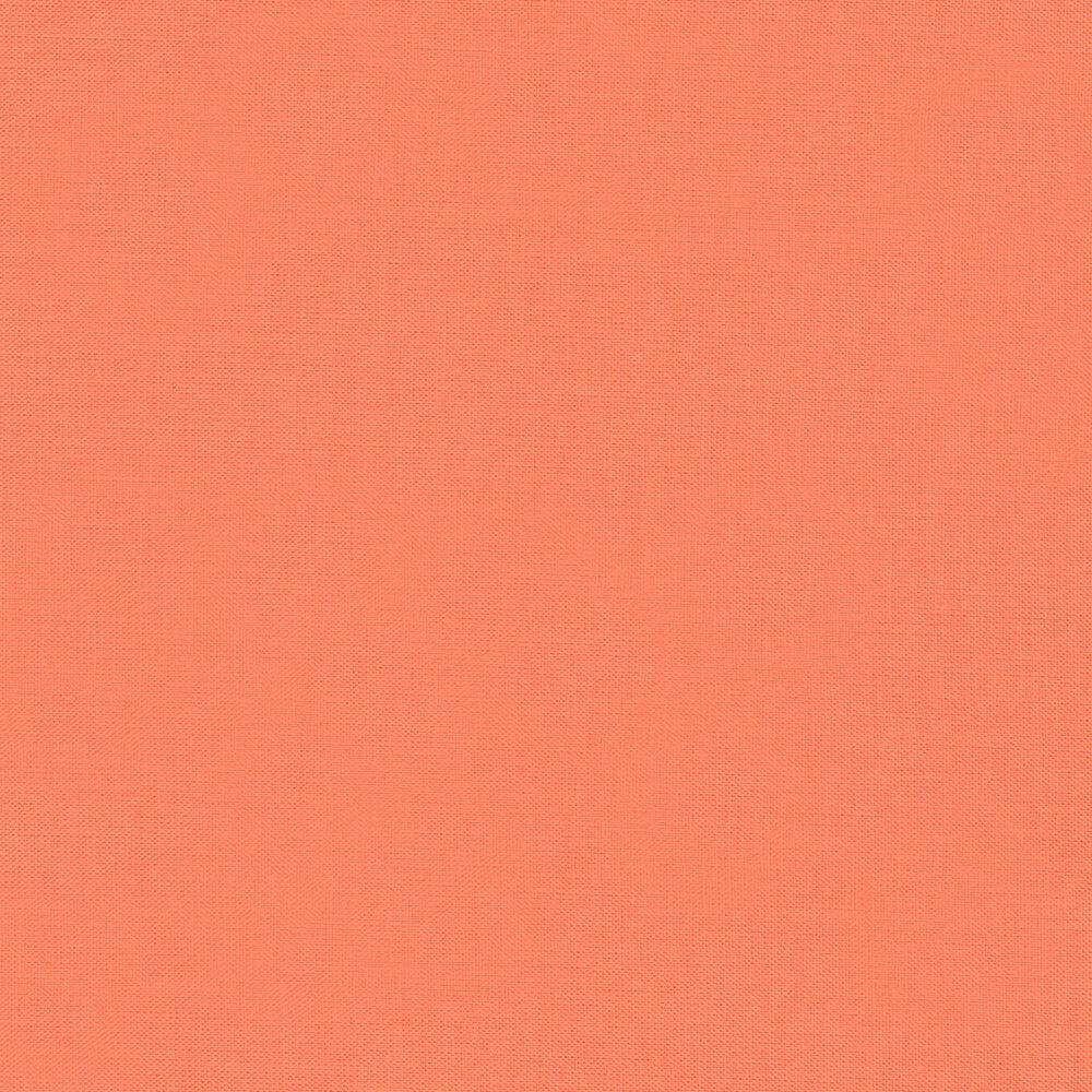Kona Cotton Solids K001-1483 Salmon by Robert Kaufman Fabrics