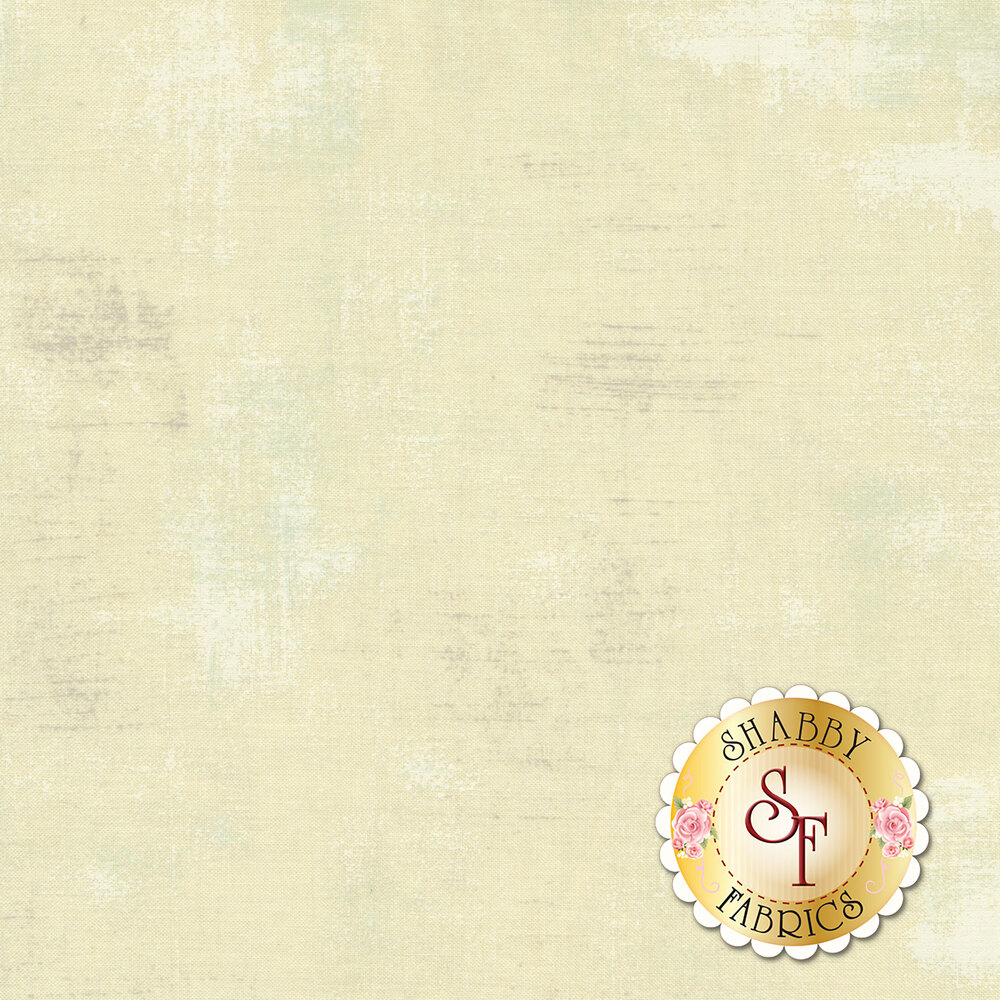 A cream fabric with a distressed look | Shabby Fabrics