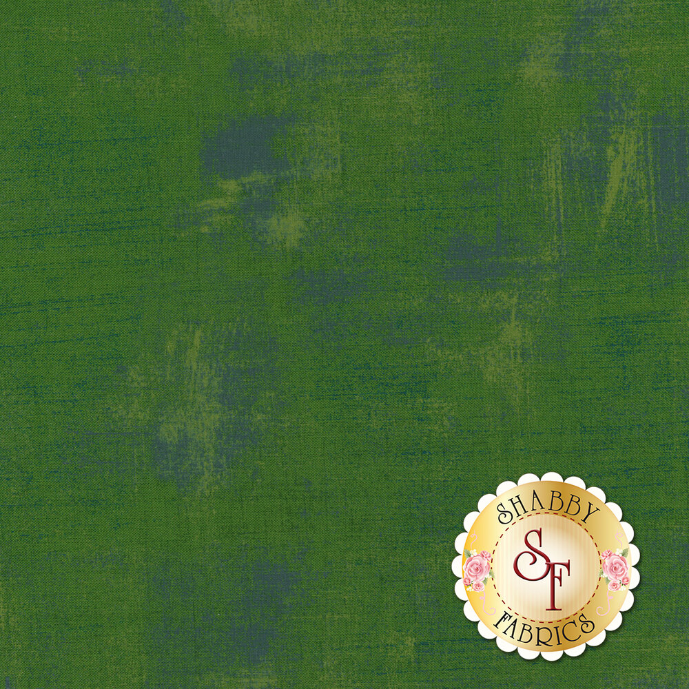 A distressed green fabric | Shabby Fabrics