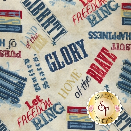 Land Of Liberty 24040-243 by Wilmington Prints