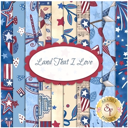 Land That I Love  Yardage by Annie Lapoint for Blank Quilting Corporation