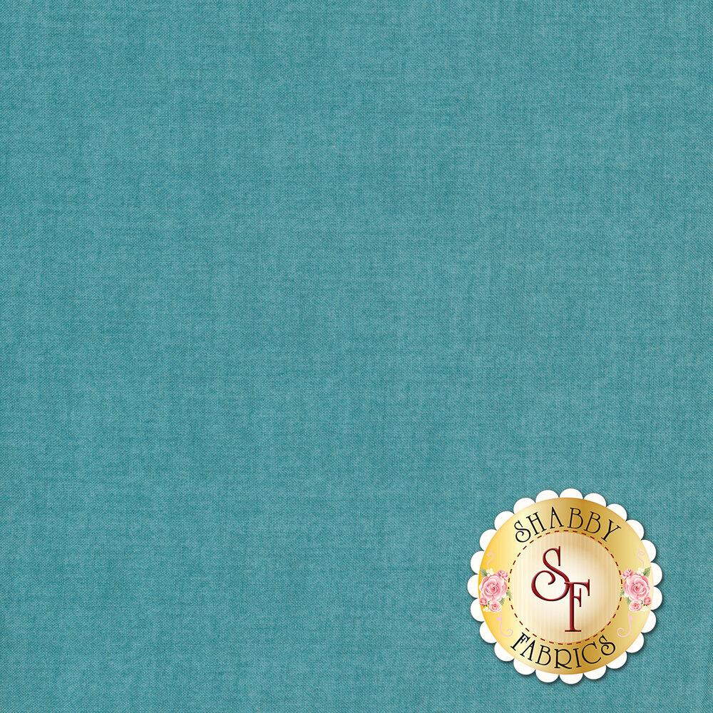 A textured deep teal fabric| Shabby Fabrics