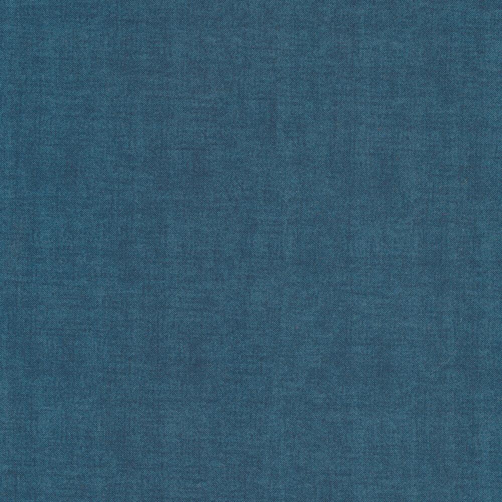 A textured dark blue fabric | Shabby Fabrics