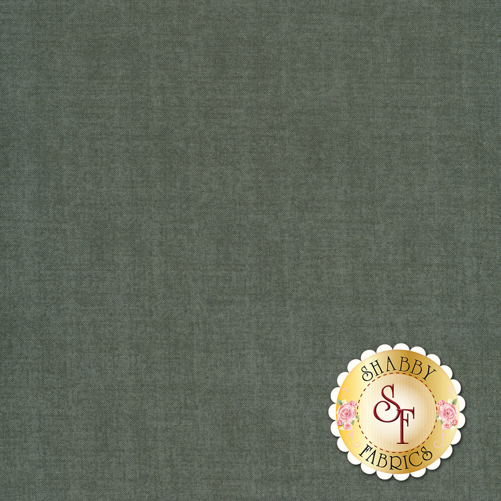 A medium gray textured fabric | Shabby Fabrics
