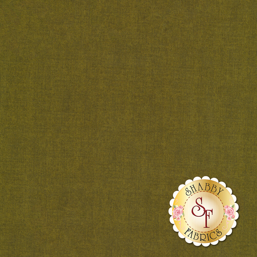 A green textured fabric | Shabby Fabrics