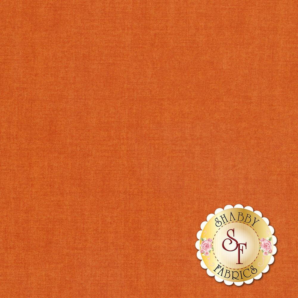An orange textured fabric | Shabby Fabrics