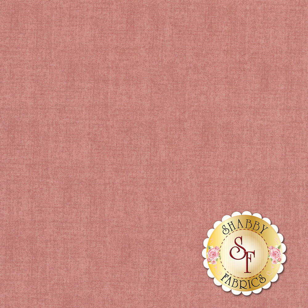 A textured cool-toned pink fabric | Shabby Fabrics
