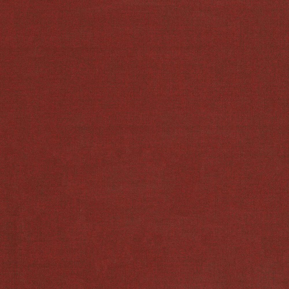 A textured dark red fabric | Shabby Fabrics