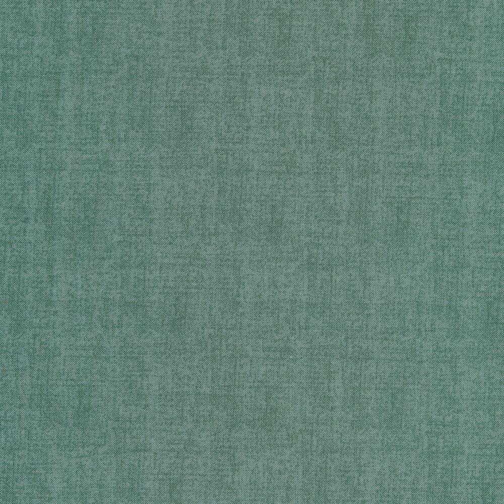 A textured dusty teal fabric | Shabby Fabrics