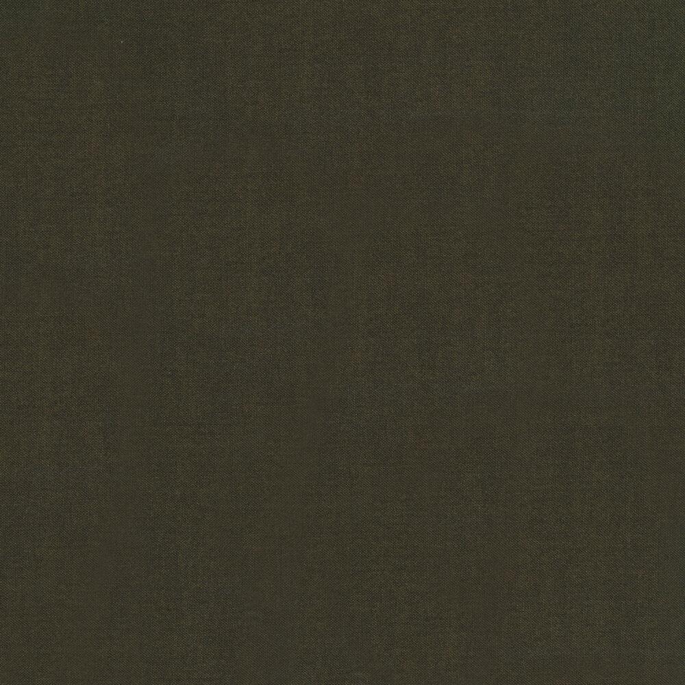 A very dark green textured fabric   Shabby Fabrics
