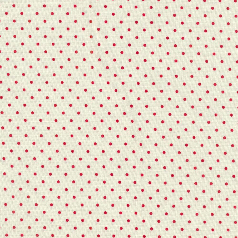 Le Creme Dots 600-80 by Riley Blake Designs