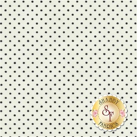 Le Creme Dots C600-110 Black By Riley Blake Designs