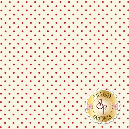 Le Creme Dots C600-80-RED by Riley Blake Designs