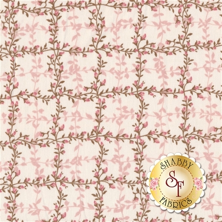 Le Jardin Parisien SRK-16439-10 Pink by Robert Kaufman Fabrics
