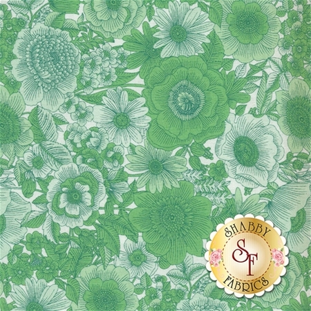Liberty Garden 1704-44 by Benartex Fabrics- REM