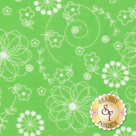 Lil Sprout Flannel Too F8229-G by Maywood Studio Fabrics