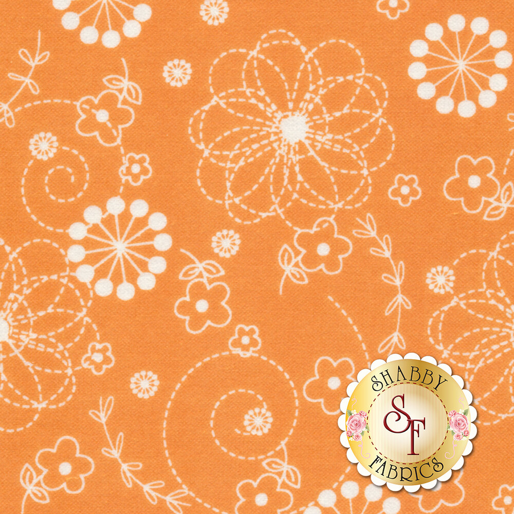 Lil Sprout Flannel Too F8229-O by Maywood Studio Fabrics