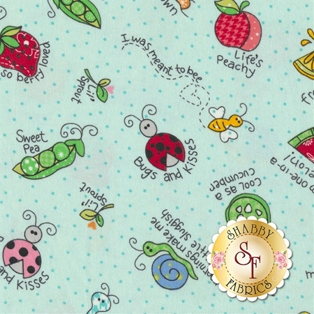 Lil Sprout Flannel Too F8231-Q by Maywood Studio Fabrics