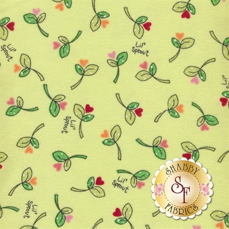 Lil Sprout Flannel Too F8232-G by Maywood Studio