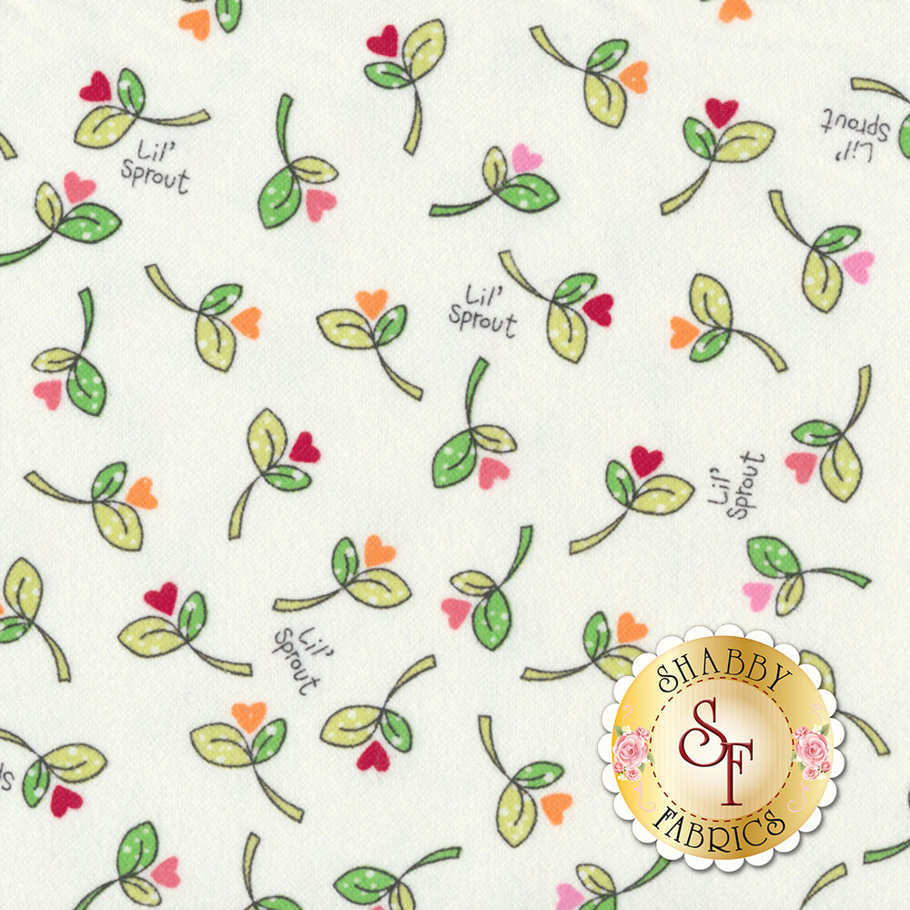Lil Sprout Flannel Too F8232-W by Maywood Studio