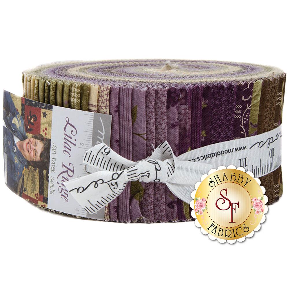 Lilac Ridge  Jelly Roll by Moda Fabrics