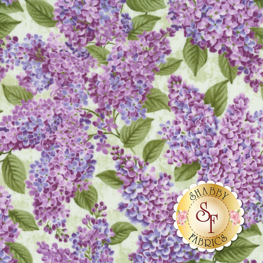 Lilacs in Bloom 5480-40 for Benartex Fabrics