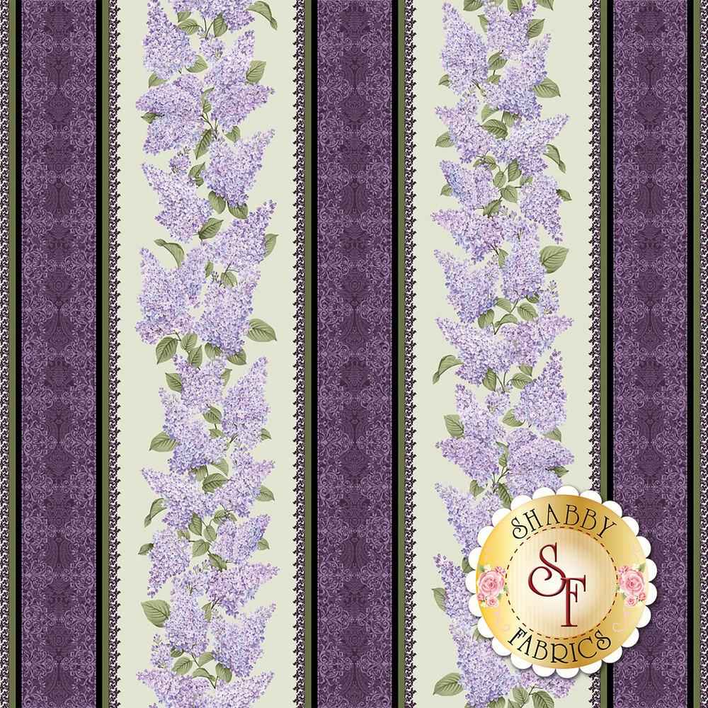 Lilacs in Bloom 5481-40 for Benartex Fabrics