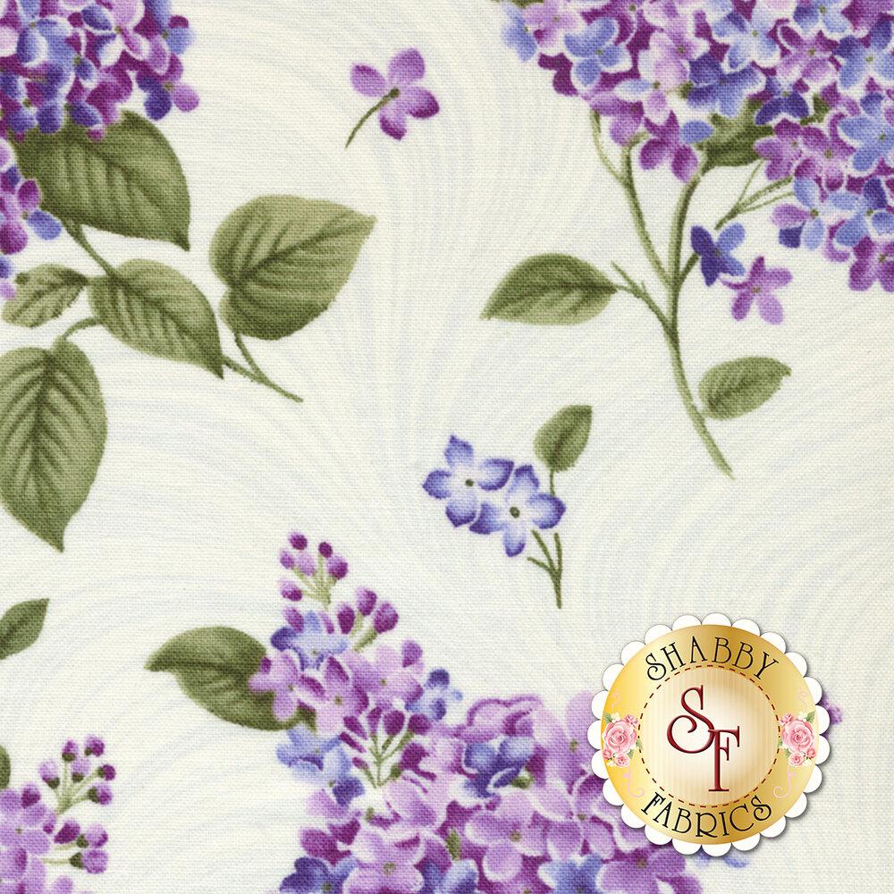Lilacs in Bloom 5482-09 for Benartex Fabrics
