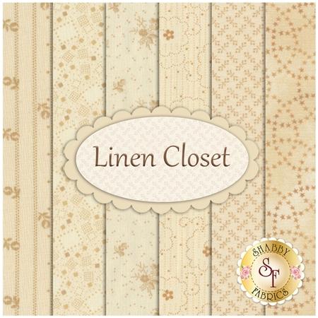 Linen Closet  6  FQ Set by Henry Glass Fabrics