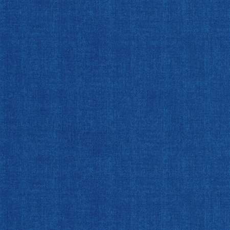 Linen textured dark blue fabric | Shabby Fabrics