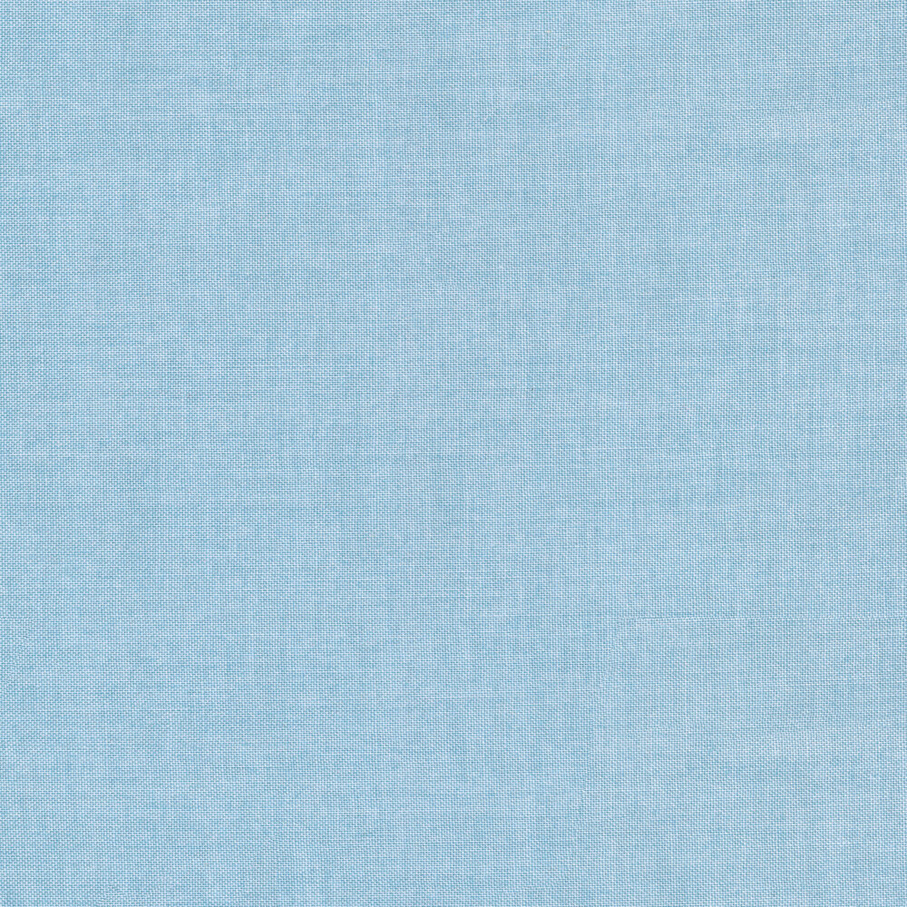 Linen textured light blue fabric | Shabby Fabrics
