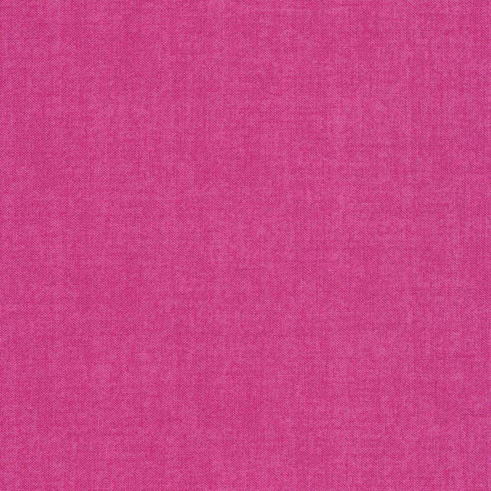 Linen textured bright pink fabric | Shabby Fabrics