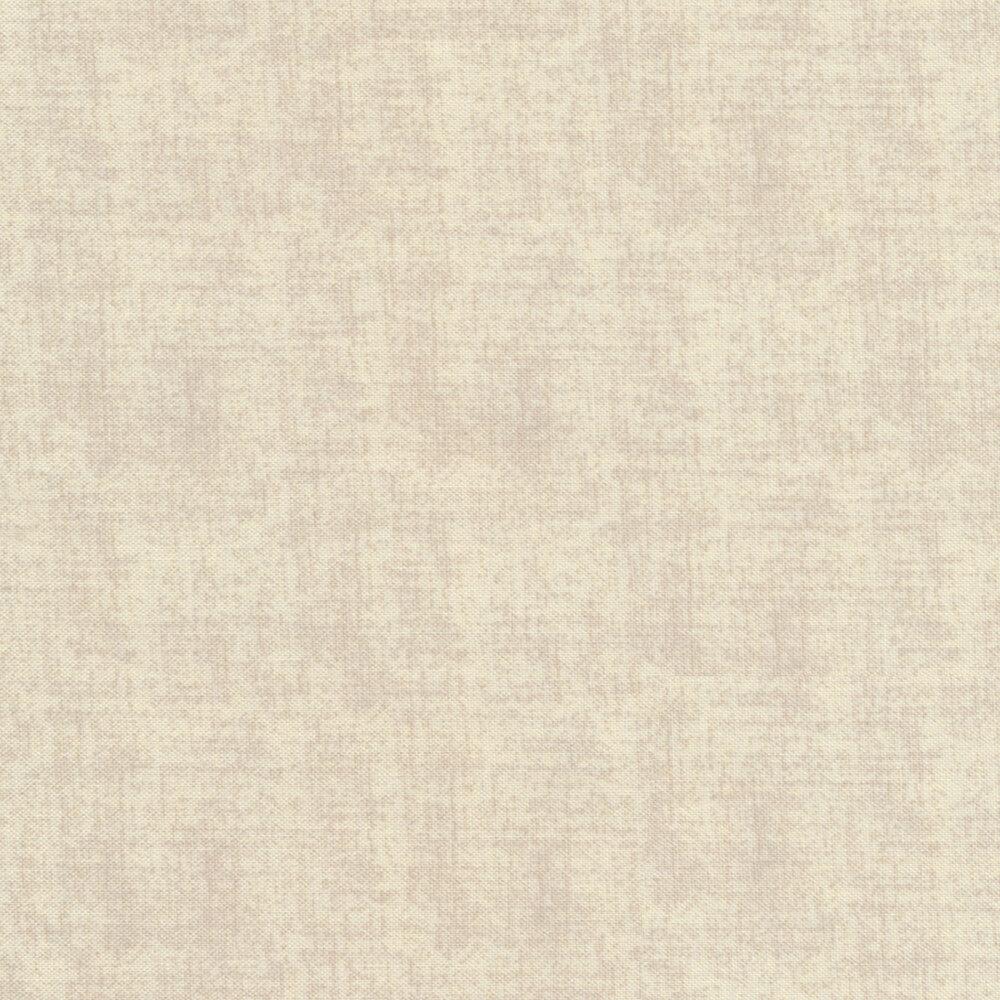Linen textured cream fabric   Shabby Fabrics