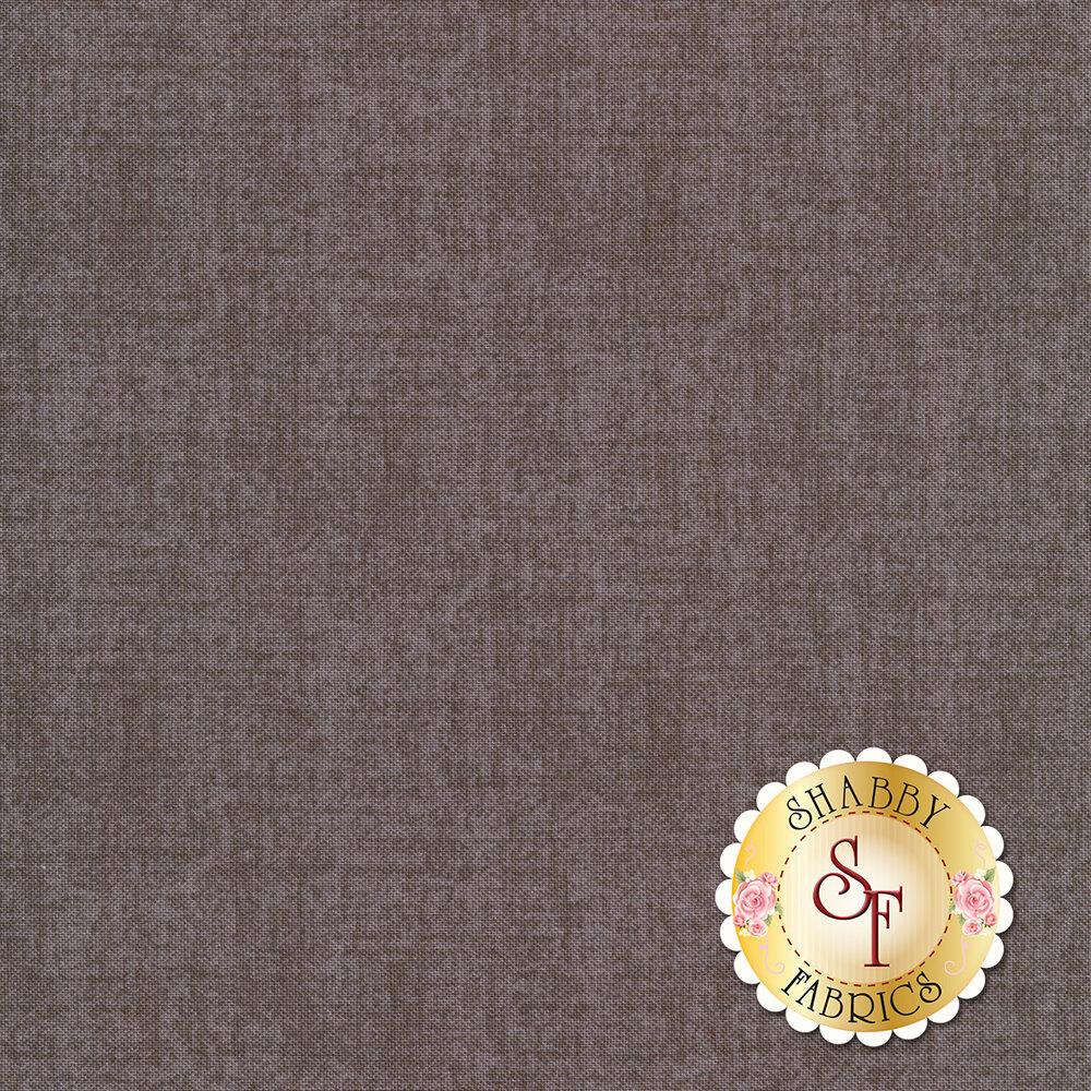 Linen textured dark grey fabric | Shabby Fabrics