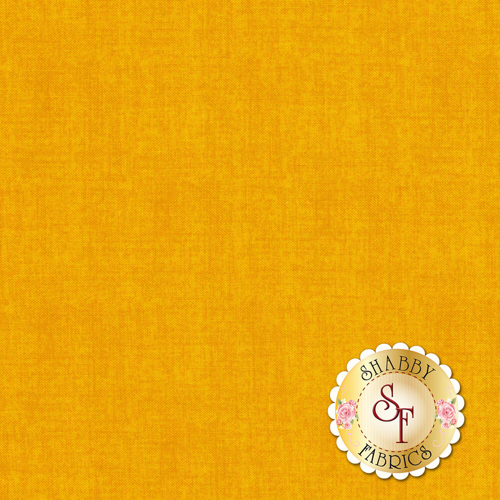 Linen textured yellow fabric | Shabby Fabrics