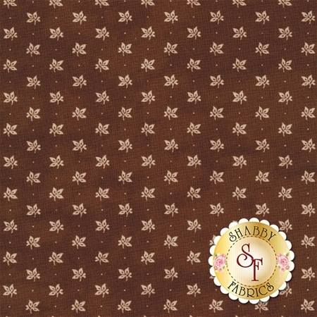 Little Gatherings II 1181-18 Walnut by Primitive Gatherings for Moda Fabrics
