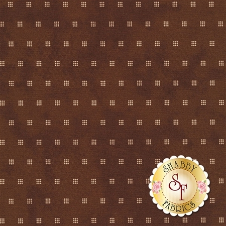 Little Gatherings II 1187-18 Walnut Paper by Primitive Gatherings for Moda Fabrics