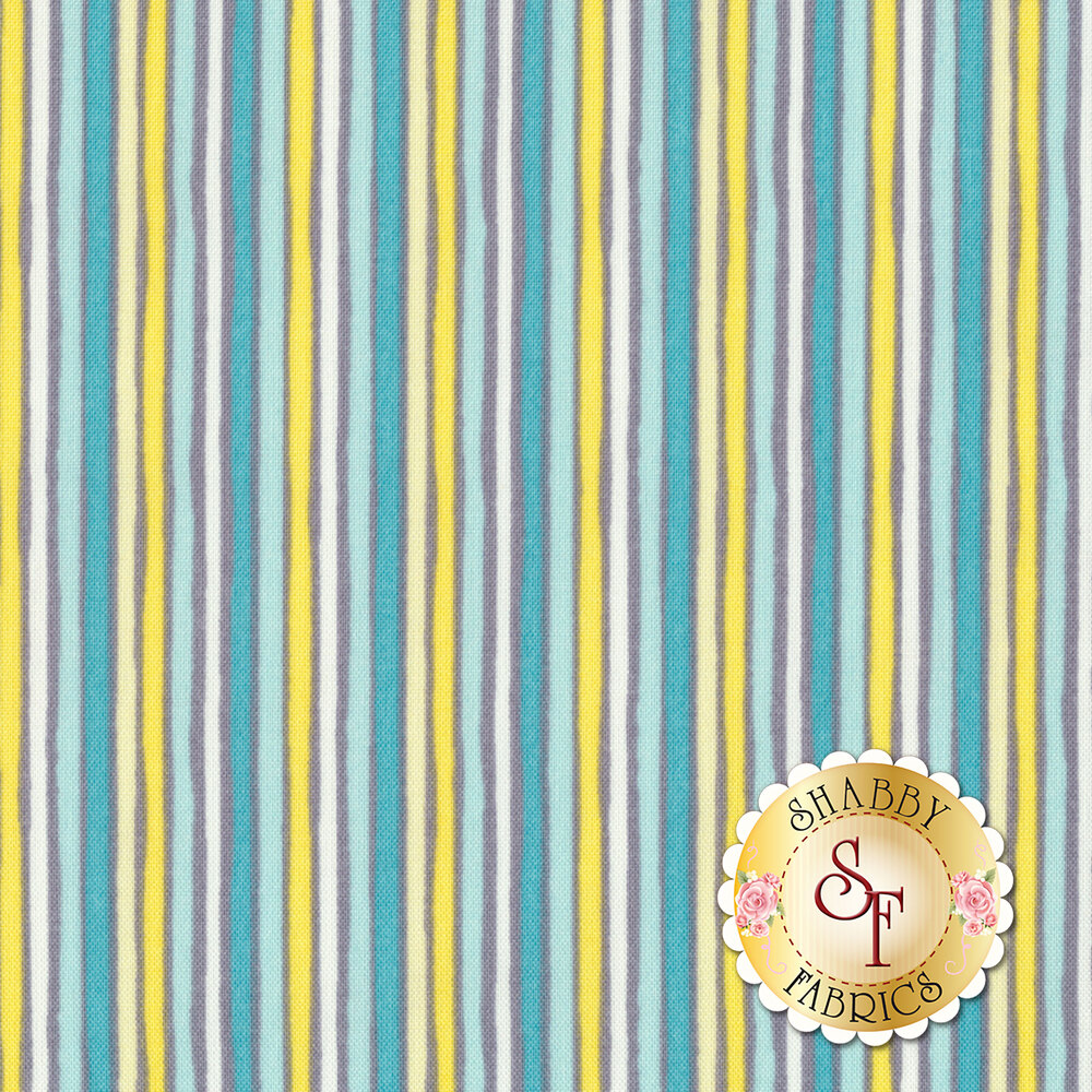 Little Sunshine 70442-759 Tiger Stripe Multi by Wilmington Prints