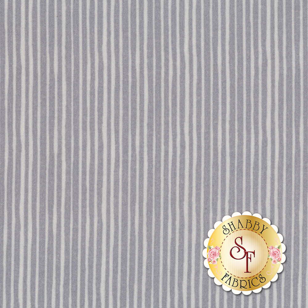 Little Sunshine 70442-990 Tiger Stripe Gray by Wilmington Prints