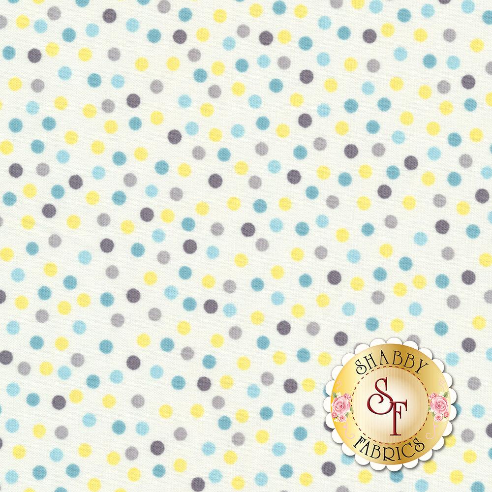 Little Sunshine 70444-195 Dots White by Wilmington Prints