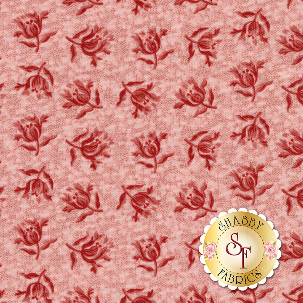 Little Sweetheart 8829-E Ballet Slipper Peony by Edyta Sitar for Andover Fabrics REM