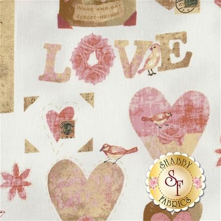 Love Birds 4507-876 by Stof Fabrics