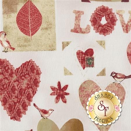 Love Birds 4507-877 by Stof Fabrics