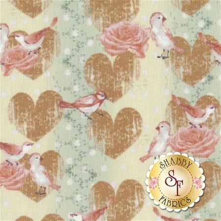 Love Birds 4507-879 by Stof Fabrics