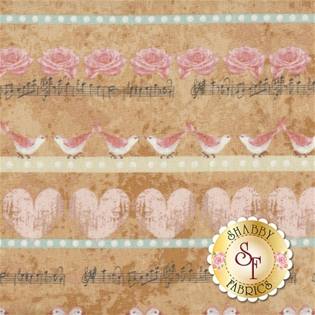 Love Birds 4507-882 by Stof Fabrics