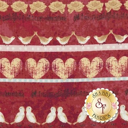Love Birds 4507-883 by Stof Fabrics