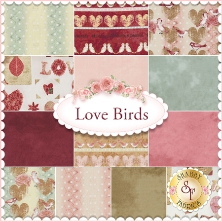 Love Birds  13 FQ Set by Stof Fabrics