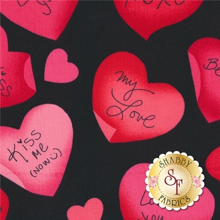 Love Is All Around 4909-12 by Kanvas for Benartex Fabrics