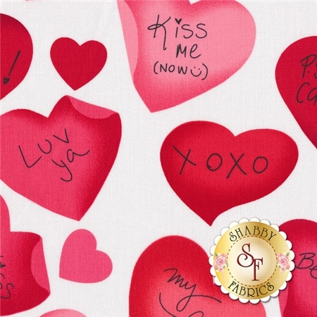 Love Is All Around 4909-9 by Benartex Fabrics