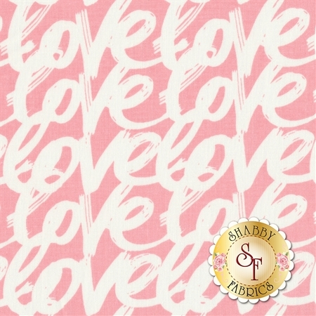 Love Story C7073-PINK by Riley Blake Designs